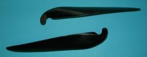 MPI Folding Prop Blade set 11-8, 6mm Yoke - Product Image