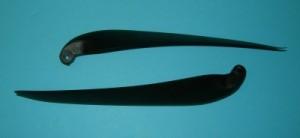 MT 13x10, 8mm Yoke Folding Prop Blade Set - Product Image