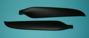 MT 15.5x9.5, 8mm Yoke Folding Prop Blade Set - Product Image