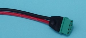 Male Multiplex 6-Pin Pigtail - Product Image