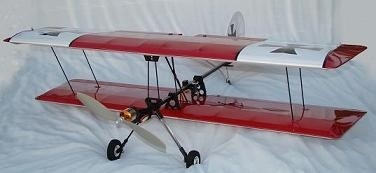 Millennium RC SSX Biplane Laser-cut Build Kit - Product Image