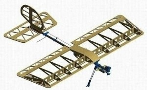 """Millennium RC Slow Stick X / X-Trainer Wing & Tail """"Short"""" Upgrade Build Kit - Product Image"""