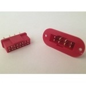 Multiplex style 8 Pin Plug 1 Pair Mountable - Product Image