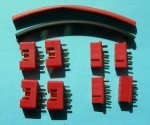 Multiplex style 8 Pin Plug 4 Pair Package - Product Image