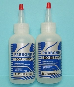 PARBOND 5 Minute 8 Ounce Epoxy - Product Image