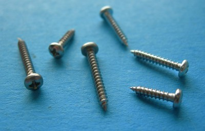 "Phillips Head Sheet Metal Screws #2 x 1/2""  10-Pack - Product Image"