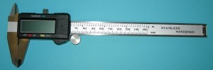 "Precision Digital Caliper 0-6"" - Product Image"