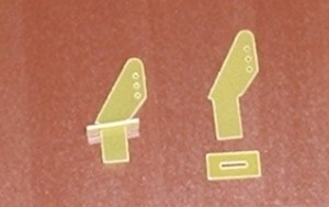 RRC Fiberglass 25mm Mini Control Horns - Product Image