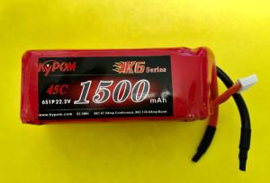 RRC K6 22.2V 6S 1500mAh 45C - Product Image