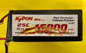 RRC K6 Series 16,000mAh 22.2V 6S - Product Image