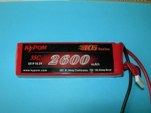 RRC K6 Series 2600 18.5V 5S - Product Image