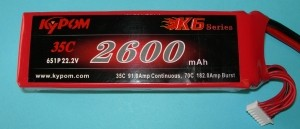 RRC K6 Series 2600 22.2V 6S - Product Image