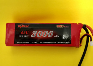 RRC K6 Series 3000 18.5V 5S 65C - Product Image