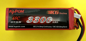 RRC K6 Series 3300 22.2V 6S 65C - Product Image