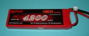 RRC K6 Series 4200 7.4V 2S - Product Image