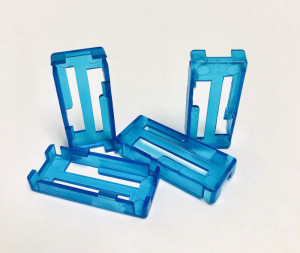 RRC Top Lock Connector Keepers, Blue, 4-Pack - Product Image