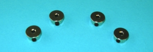 Radical RC 2mm (5/64th inch) Wheel Collar 4 Pack - Product Image