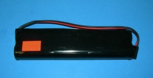"Radical RC 2150mah NiMH 7.2V Double Stick Futaba 8 & 12FG TX Pack MAX LENGTH 5-1/16"" - Product Image"