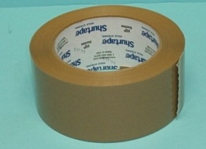 "Radical RC Acrylic Brown Tape  2"" x 110yd - Product Image"
