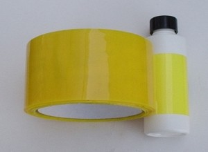 "Radical RC Acrylic Transparent Yellow Tape  2"" x 55yd - Product Image"