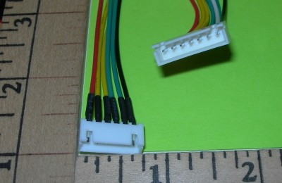 Radical RC XH Balance Harness Female Receptical PIGTAIL 6S - Product Image