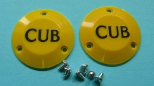 Replacement Cub Hub Caps 1/4 Scale - Product Image