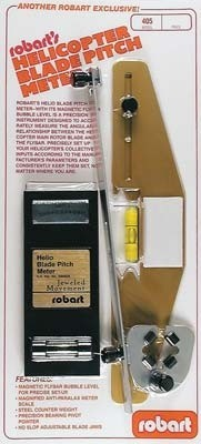 Robart Heli Blade Pitch Meter