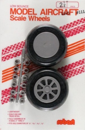 "Robart Scale Wheels 2-1/4"" - Product Image"