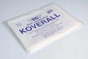 "SIG KOVERALL WHITE 1 YD PKG, APPROX 60"" x 36"" - Product Image"