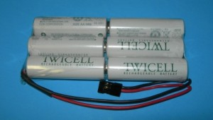FDK/Sanyo Twicell 2000mah NiMH 3x2 Tx Pack  - Product Image