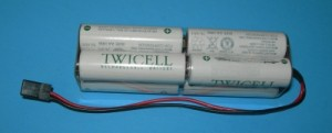 FDK/Sanyo Twicell 2000mah NiMH AA 9.6V 8-Cell Tx Square Pack - Product Image