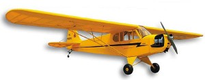 Sig Anniversary Piper J3 Cub 1/5 Scale Kit - Product Image