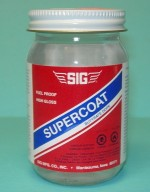 Sig Supercoat Butyrate Dope Clear 4oz - Product Image