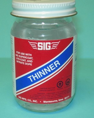Sig Dope Thinner 4oz - Product Image