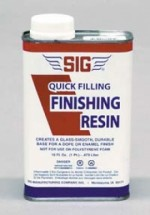 Sig Quick Filling Finish Resin - Product Image