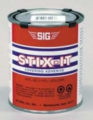 Sig STIX-IT Covering Adhesive 1/2 Pint / 8oz - Product Image