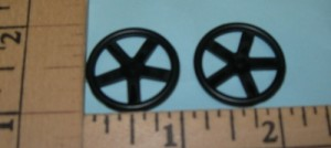 Sonic Tronics 1 Inch Park Flyer Wheels - Product Image