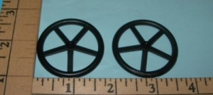 Sonic Tronics 1.75 Inch Park Flyer Wheels - Product Image