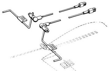 Strip Aileron Ball Link Set - Product Image