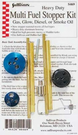 Sullivan Aluminum Heavy Duty Multi Fuel Stopper Kit - Product Image