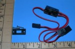 Switch Harness Futaba J w/Charge Pigtail - Product Image