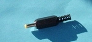 TX Charge Plug for JR DX8 4.8V TX - Product Image