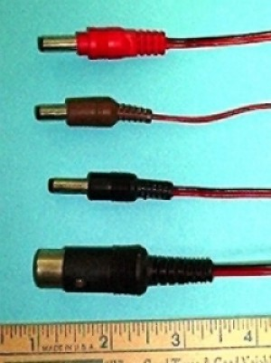 Futaba 9.6V Transmitter Charge Cord - Product Image