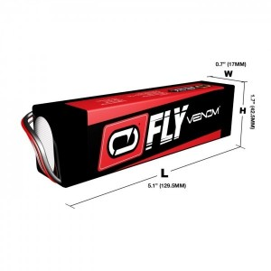 Venom Fly 11.1V 3S 3200mAh HD30C - Product Image