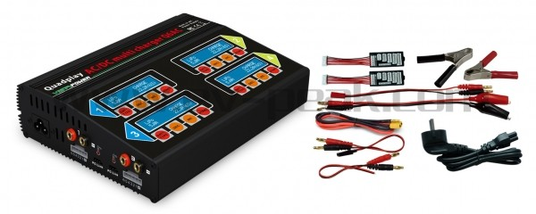 Vista Power Quadplay Multi Charger Q6AC - Product Image