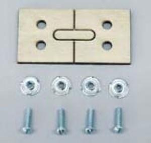 Laser Cut Wheel Pant Mount for Aluminum Gear - Product Image
