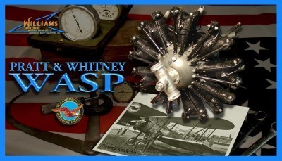 Williams Brothers 1 6 Scale Wasp Dummy Radial Engine Kit