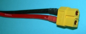 2 Pole/Wire Pigtail Female XT60 - Product Image