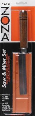 Zona Saw & Plastic Miter Box Set - Product Image